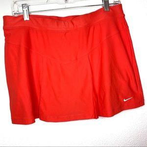 Nike Coral Built-in Spandex Athletic Tennis Skirt